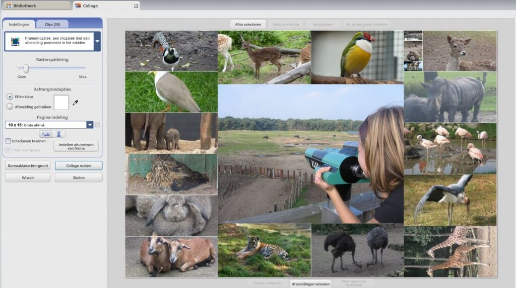 Foto bewerken in Picasa