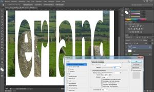 Photoshop ierland doorkijk
