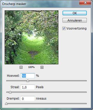 Photoshop selectiegereedschappen