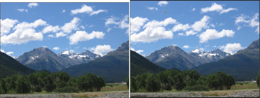 Photoshop selectie omkeren