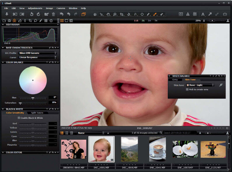 Capture One fotoworkflow