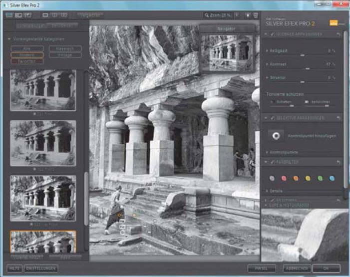 Zwart-witte pracht met Silver Efex Pro