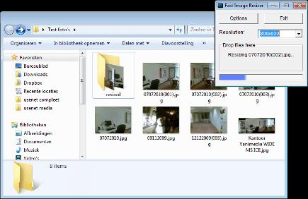 Foto verkleinen met fast-image resizer2