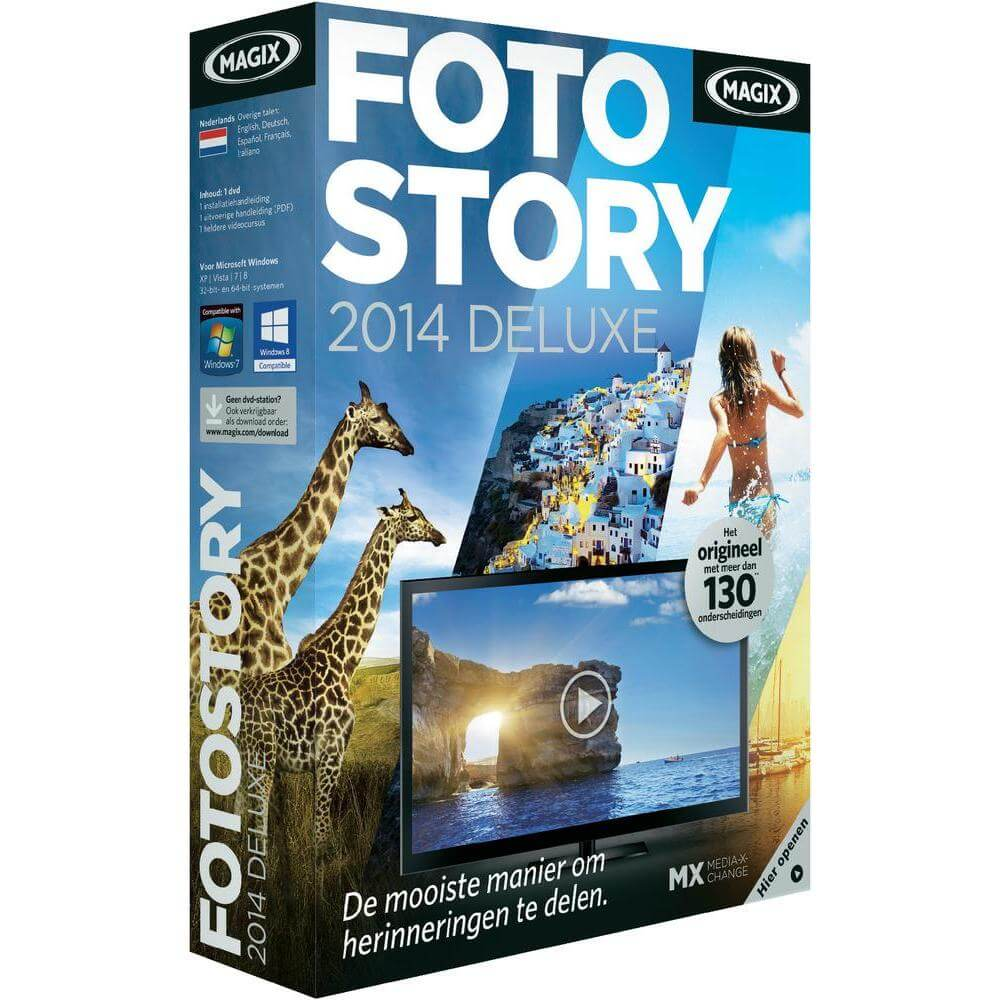 Magix Fotostory 2014 - Maak je eigen fotoreportages