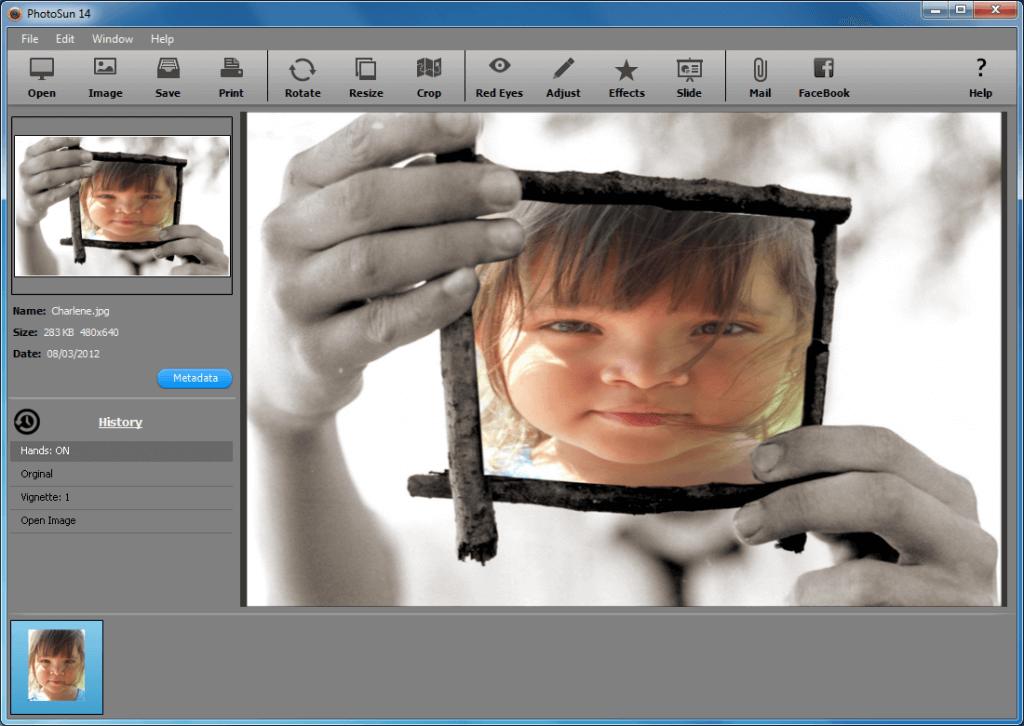 PhotoSun maakt veelvoorkomende bewerkingen eenvoudig