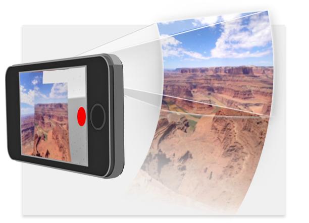 Gratis 360 graden panorama foto's maken met Bubbli
