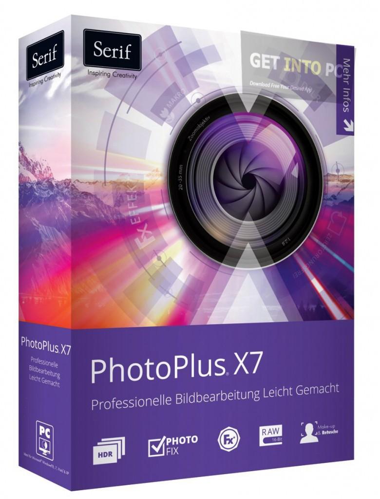 SERIF PHOTOPLUS X7 Degelijke beeldbewerker