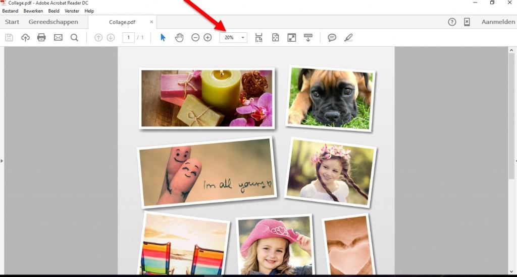 gratis foto collage met collageit - een foto bewerken